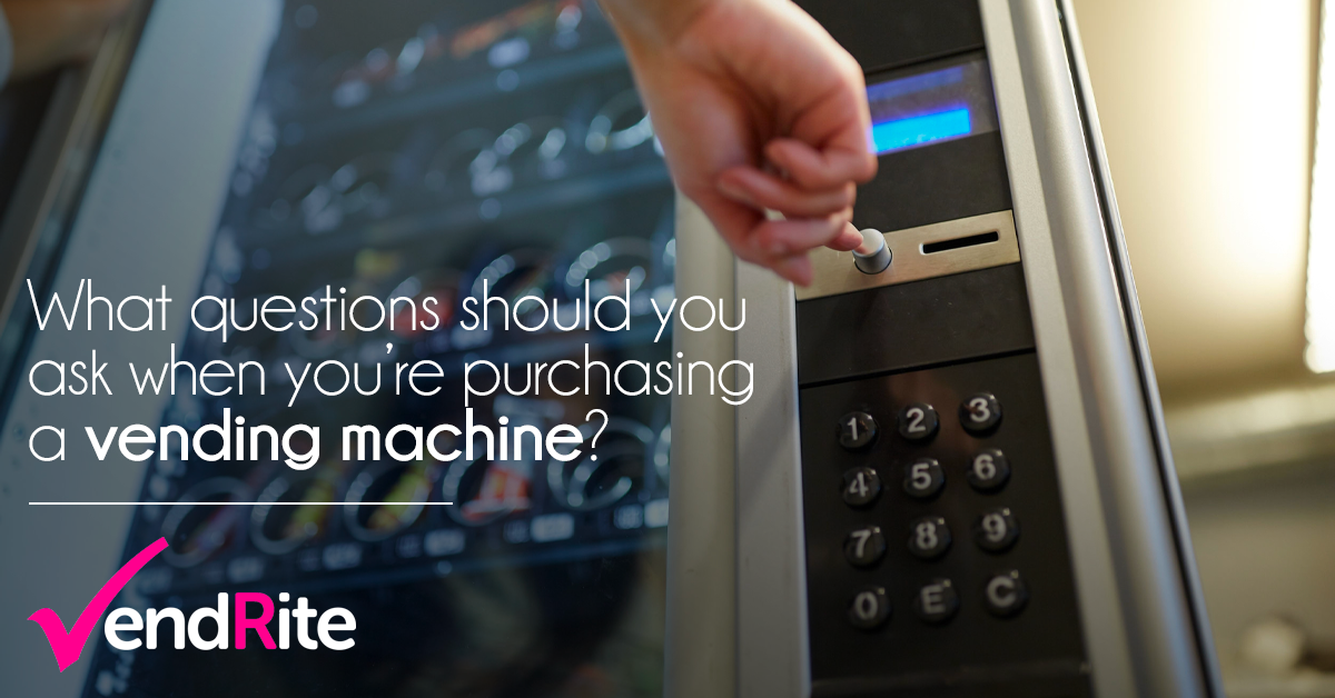 Questions To Ask When Buying A Vending Machine Business